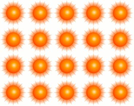 Sunny pattern photo