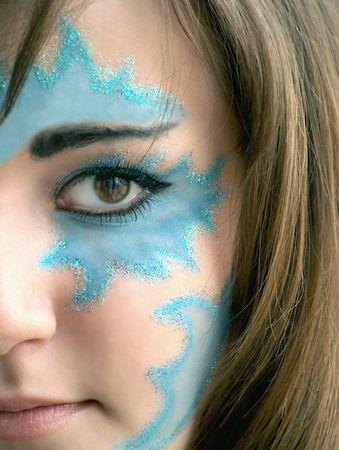 maquillaje de fantasia: Fantas�a maquillaje