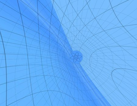 toils: Blue network. Abstraction background 2 Stock Photo