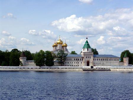 gorgeousness: Russia. Ipatievsky  monastery. 17th -18 th centuries.Cradle  boyars Romanov.