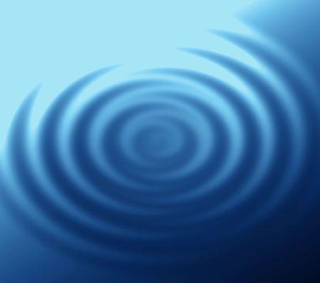 Fine blue ripples. photo