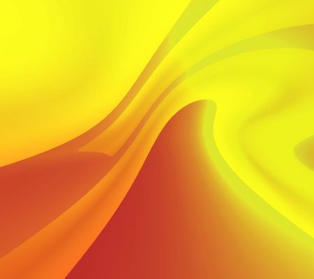 Yellow-orange abstraction material photo
