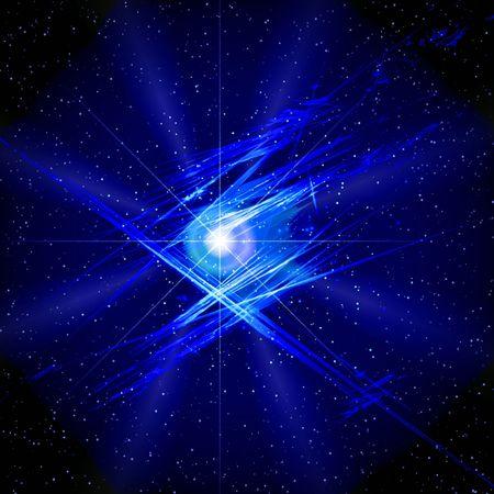 nebulosity: Blue space