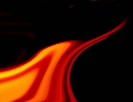 Tongue of flame photo