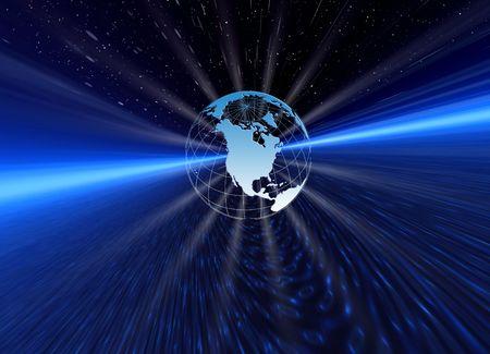 Light of planet