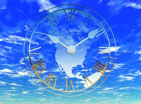 earthly: Earthly time Stock Photo