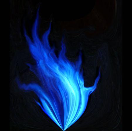fuego azul: Blue fuego