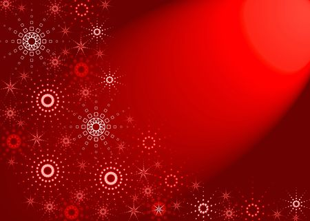 Christmas red background. Red light Stock Photo - 626711