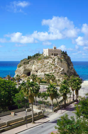 calabria: The south Italy, area Calabria, church of Tropea city