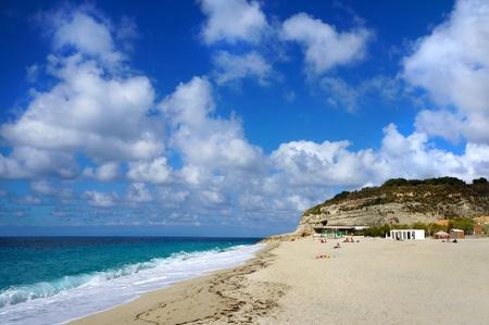 adriatic: The south Italy, area Calabria, beach of Tropea city