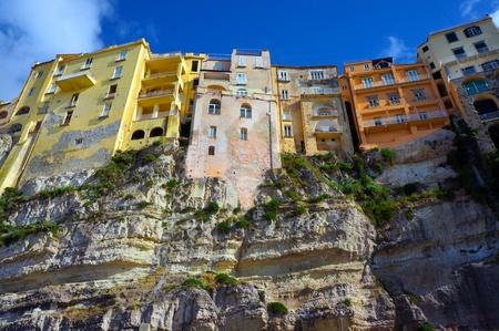 calabria: Italian city Tropea, area Calabria, street and historic architecture