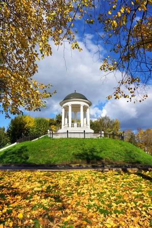 Russia, Kostroma city in the autumn season photo