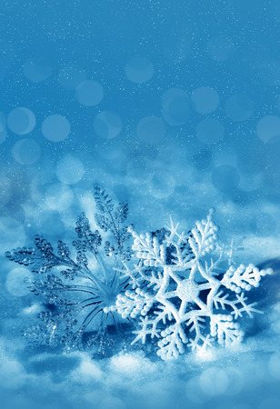 Christmas decorations, background for congratulation cards and design photo