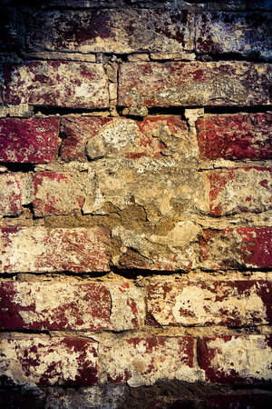 Brickwork, old grunge background for your  design artworks  photo
