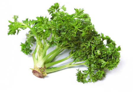 fresher: Food  ingredients - seasonings : parsley isolated over white background