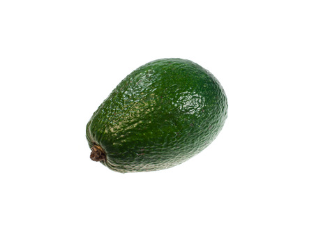 fresher: Food  ingredients -  avocado isolated over white background
