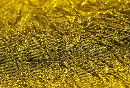 goldy: Struttura dorata, foglia d'oro vicino sfondo Archivio Fotografico