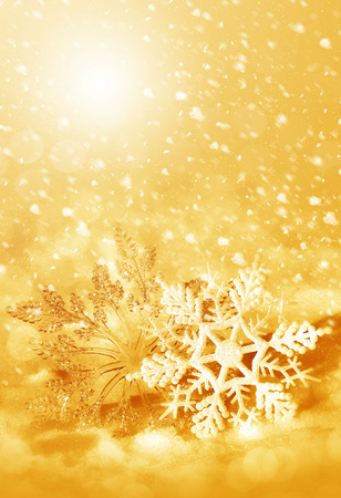 Christmas decorations snowflakes, background for congratulation cards and design photo