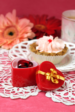 luxury goods: Valentine card for a valentines day