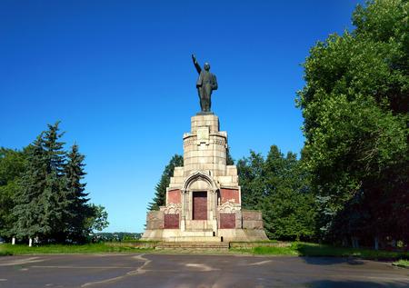 lenin: Kostroma city monument Lenin