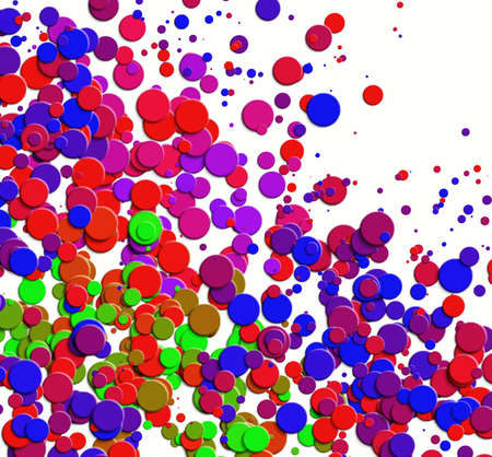chads: Abstraction bright background. Multicolor spotted