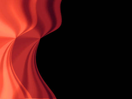 crinkle: Red curtain  . Background