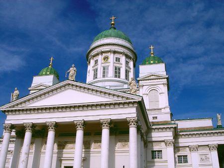 Catedral de Helsinki  Foto de archivo