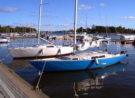 Muelle de la ciudad de la ciudad Helsinki