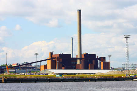 Coal power plant in Helsinki, Finland Stock Photo - 7633576