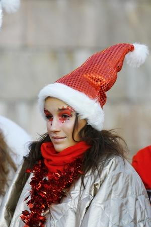 HELSINKI, FINLAND - NOVEMBER 20: Traditional Christmas Street opening in Helsinki on November 20, 2011. Stock Photo - 11249965