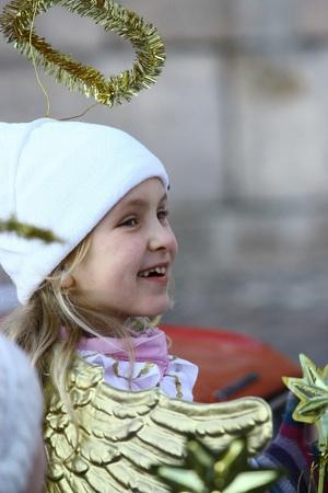 HELSINKI, FINLAND - NOVEMBER 20: Traditional Christmas Street opening in Helsinki on November 20, 2011. Stock Photo - 11249981