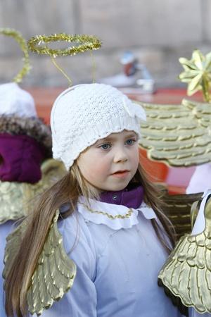 HELSINKI, FINLAND - NOVEMBER 20: Traditional Christmas Street opening in Helsinki on November 20, 2011. Stock Photo - 11259964