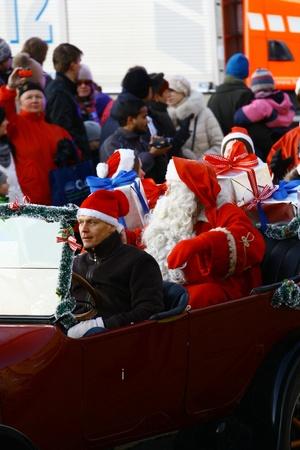 HELSINKI, FINLAND - NOVEMBER 20: Traditional Christmas Street opening in Helsinki on November 20, 2011. Stock Photo - 11260194