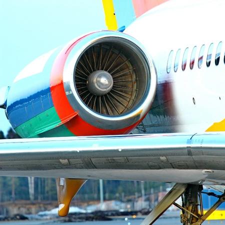 Plane Engine photo