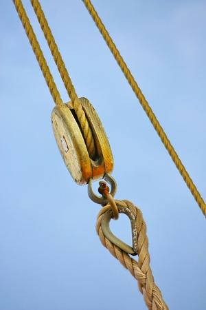 Ship rigging  Stock Photo - 13562897