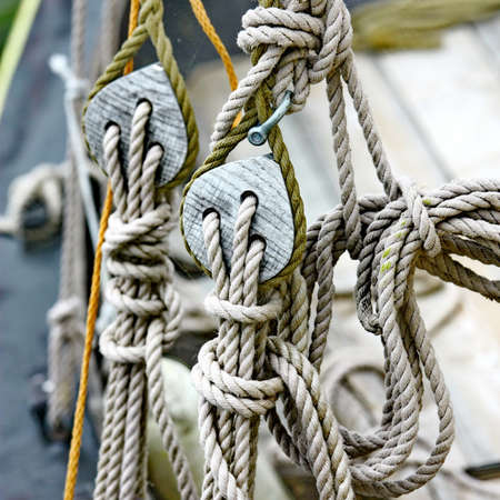 Ship rigging photo