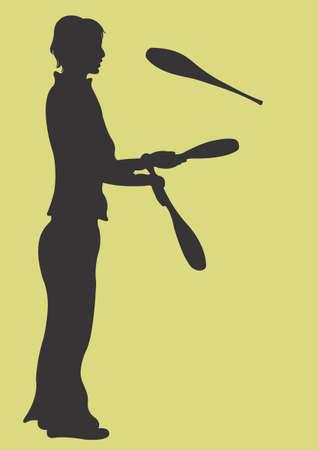 juggler: A juggler