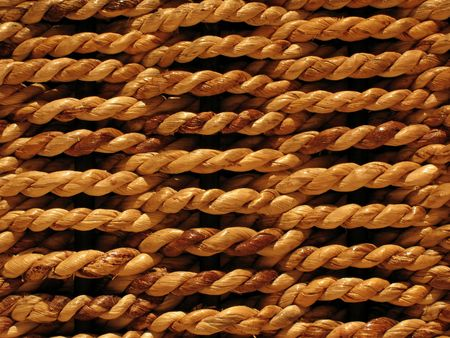bind: Textured background of woven bamboo