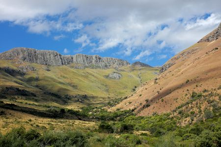 Mountain landscape, Eastern Cape, South Africa Stock Photo - 4570832