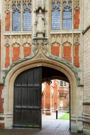 View of Eton College, Windsor, England