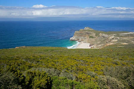 Cape of Good Hope (view from Cape Point), Table Mountain National Park, near Cape Town, South Africa Stock Photo - 9334895