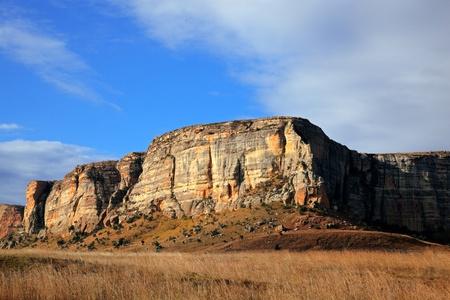 Sandstone rock, Golden Gate National Park, South Africa Stock Photo - 9800099