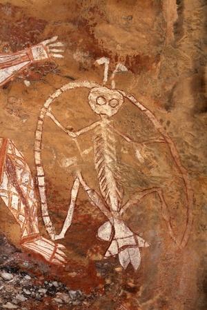 kakadu: Aboriginal rock art at Nourlangie, Kakadu National Park, Northern Territory, Australia