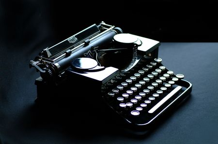 Vintage Royal Amercan Typewriter 1900s photo
