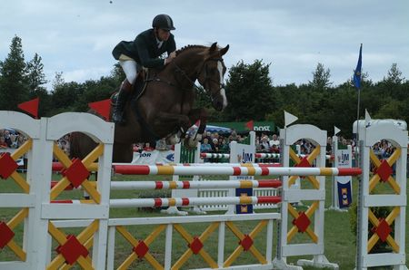 contestant: Irish Showjumping Contestant