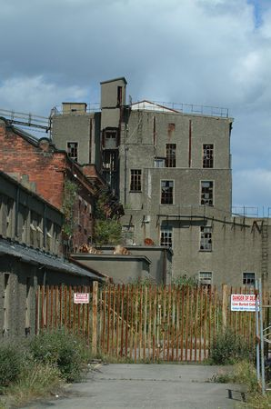 powerstation: Derelict Powerstation, Dublin