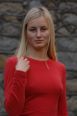 Model Posing Stock Photo - 253078