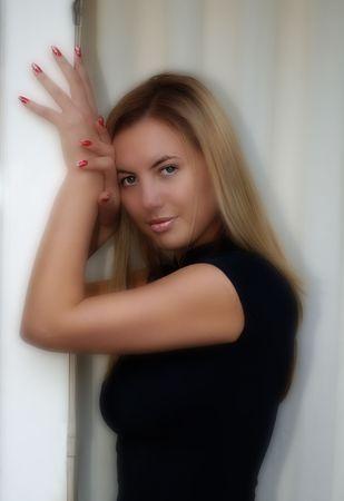 Model Posing Stock Photo - 253070