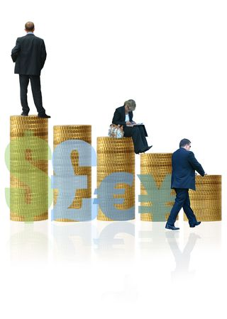 Currency Business Growth and Development + Team Leadership Stock Photo - 265549