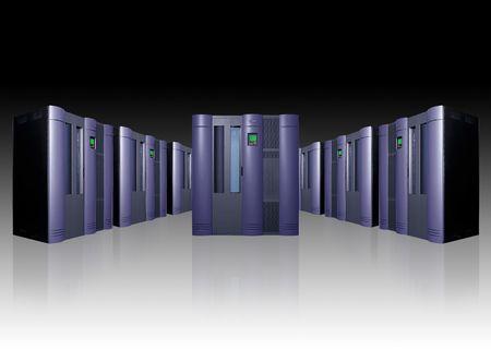 Server Room Stock Photo - 318315